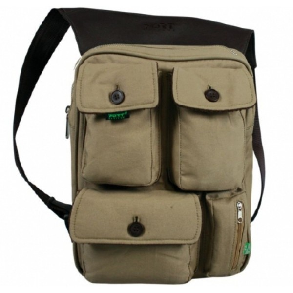 *PORT INDIANA MESSENGER 11 BEIGE