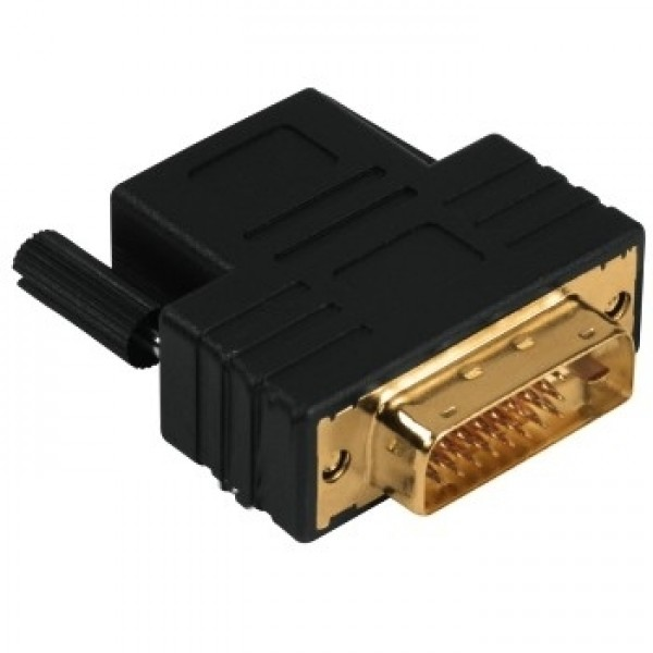 HAMA - DVI ADAPTER DVI-D PLUG - HDMI SOCKET GOLD-P...