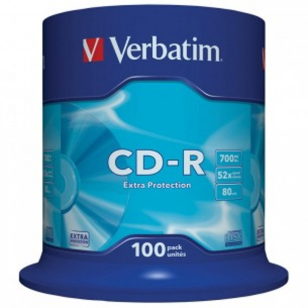 VERBATIM - CD-R + SLEEVE BUNDLE