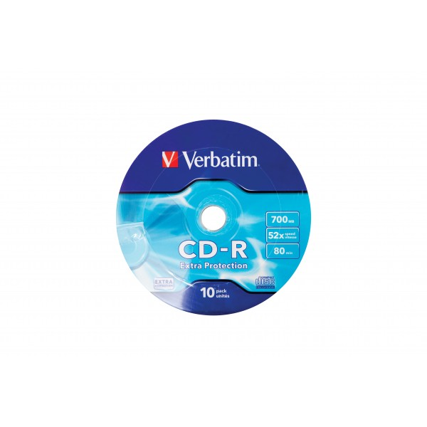 VERBATIM - CD-R 700MB (52X) EXTRA PROTECTION WAGON...