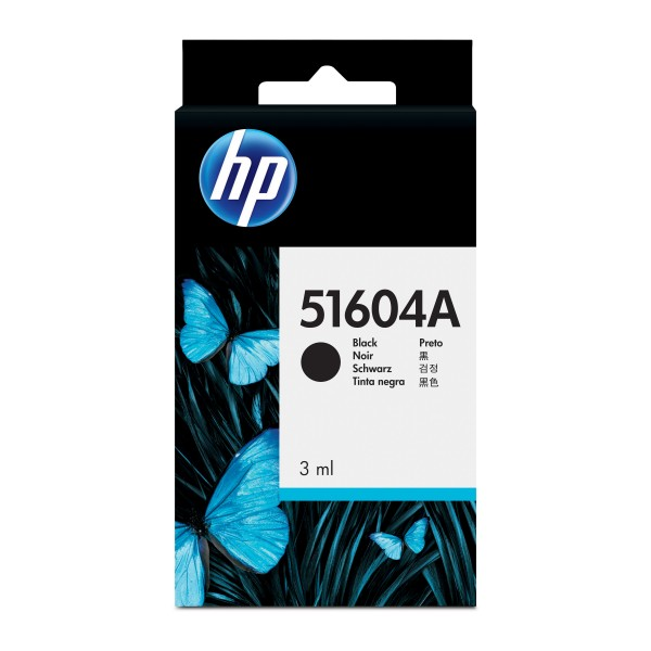 HP # 04A BLACK PLAIN PAPER INK CARTRIDGE - QUIETJE...