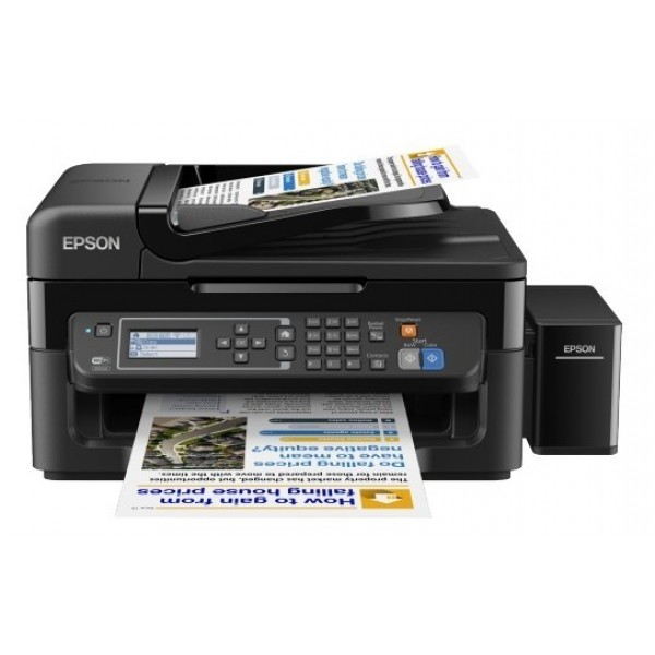 L565 Inkjet Printers Consumer/Plain Letter 4 Ink Cartridges MCYK Print Scan Copy Fax Manual 5.760x1.440dpi 15Pages/minColor (plain paper) 33Pages/minMonochrome (plain paper) 69Secondsper 10 x 15 cm photo (Epson Premium Glossy Photo Paper) 100SheetsStandar