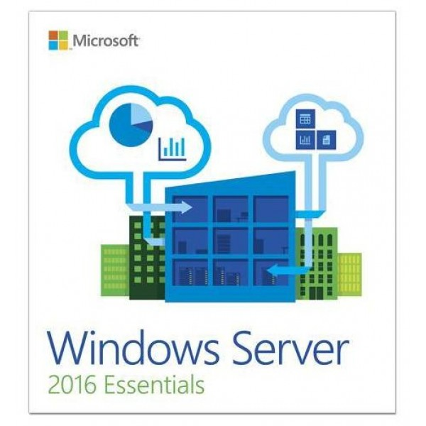 Windows Server Essentials 2016 64Bit 1-2CPU