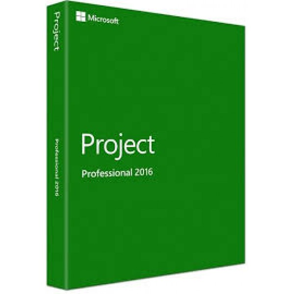 Project Pro 2016 DVD - FPP