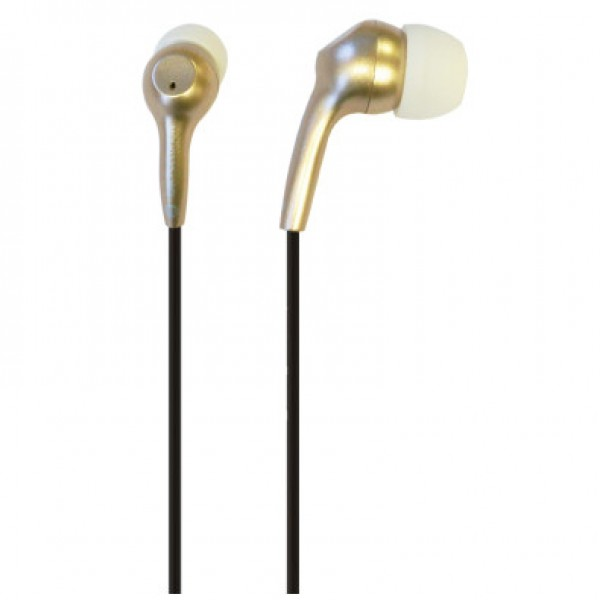 IFROGZ BOLT PLUS EARBUDS WITH MIC - GOLD