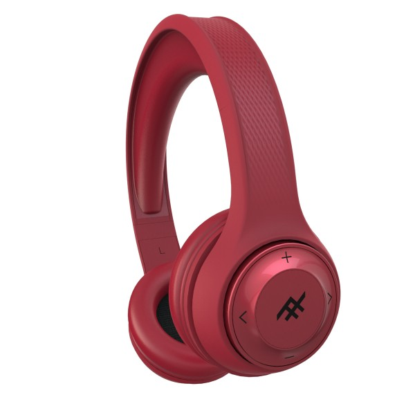 IFROGZ AURORA DJ WIRELESS HEADPHONE - RED