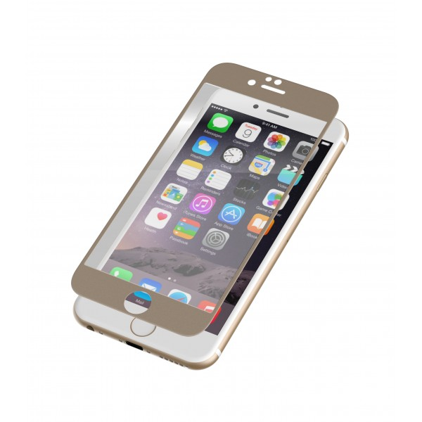 INVISIBLESHIELD GLASS LUXE IPHONE 6/6S - GOLD