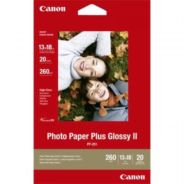 CANON - INKJET PHOTO - PAPER PP-201 5X7 (1 BOX OF ...
