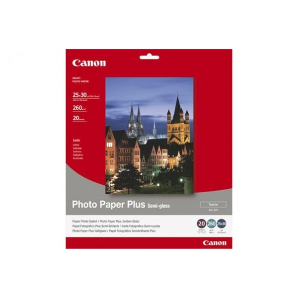 CANON - INKJET PHOTO - PAPER SG-201 10X 12 (1 BOX ...