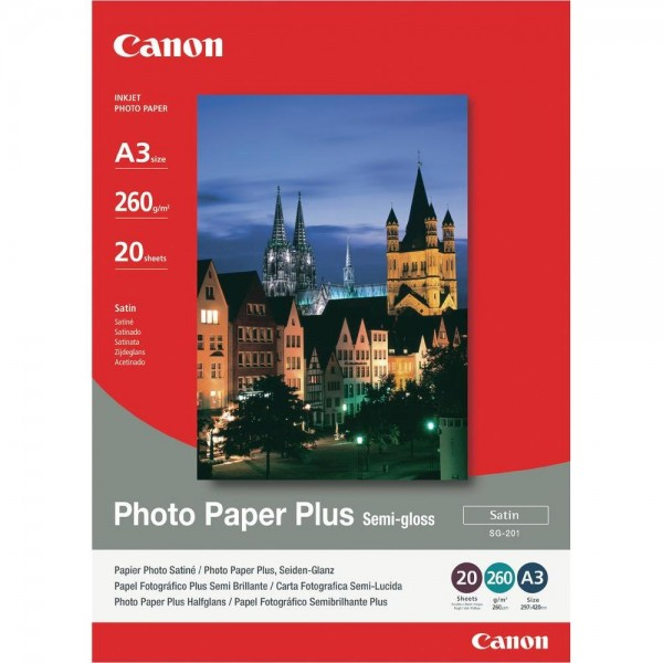 CANON - INKJET PHOTO - PAPER SG-201 A3 (1 BOX OF 2...