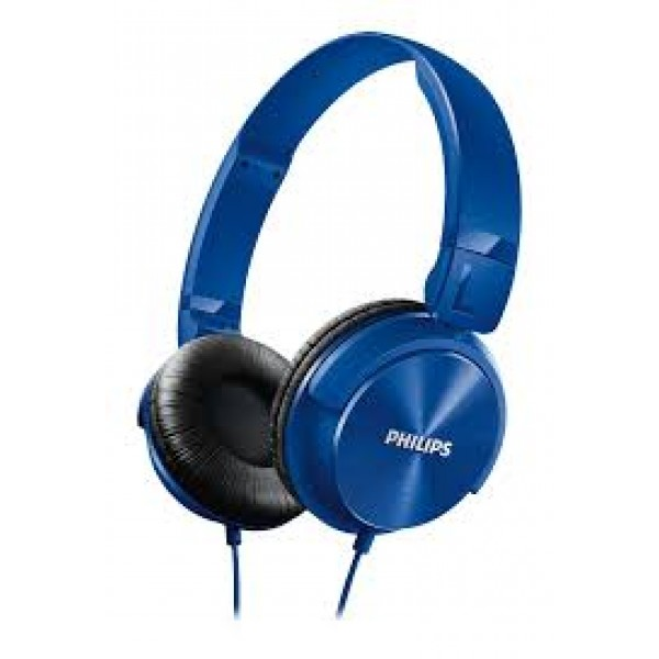 PHILIPS SHL3060 HEADPHONES - BLUE