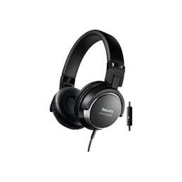 PHILIPS SHL3565 HP W/MIC - BLACK