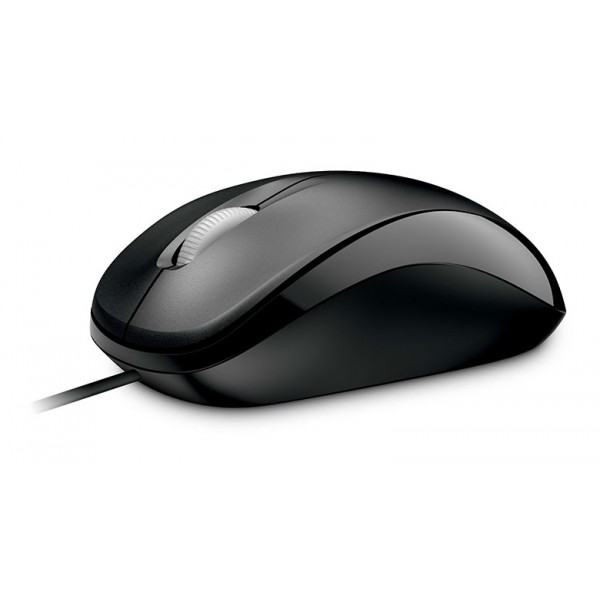 Microsoft L2 Compact Optical Mouse 500 Black - 3 Y...