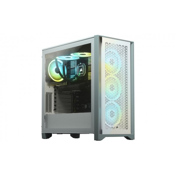 4000D Airflow Tempered Glass Mid-Tower; White