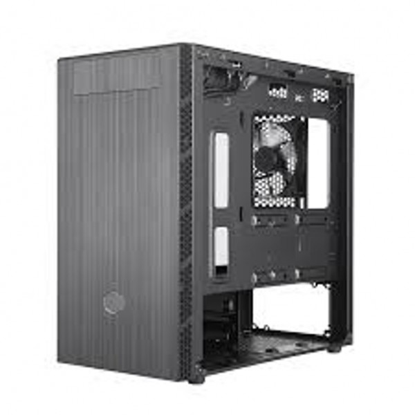MasterBox MB400L; Brushed Front Panel; Hexagon Gle...