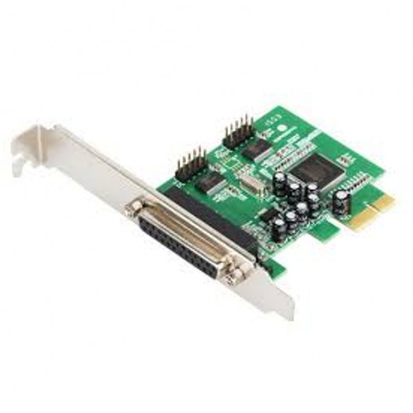 PCI Express 2 x Serial (RS232) port and 1 x Parall...