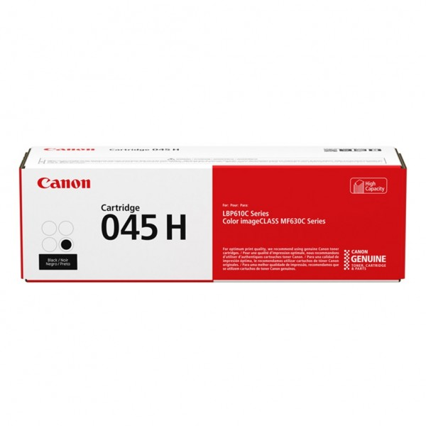 Canon 045 H. Black toner page yield: 2800 pages, P...