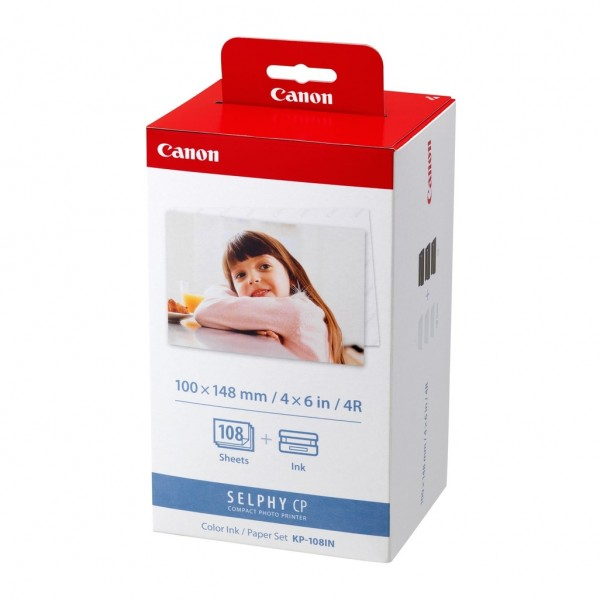 Canon KP-108IN. Product colour: Red,White, Print t...