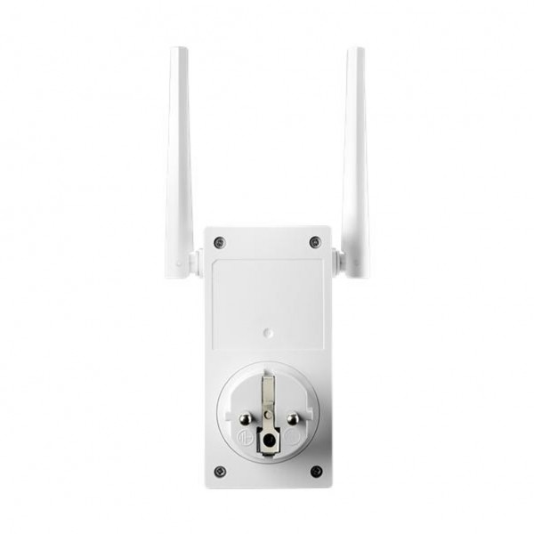 ASUS RP-AC53. Maximum data transfer rate: 433 Mbit/s, Wi-Fi data rate (max): 433 Mbit/s, Ethernet LAN data rates: 10,100 Mbit/s. Security algorithms: WPA,WPA2,WPS. Placement: Wall, Product colour: White, LED indicators: LAN,Power,WLAN. Width: 54 mm, Depth