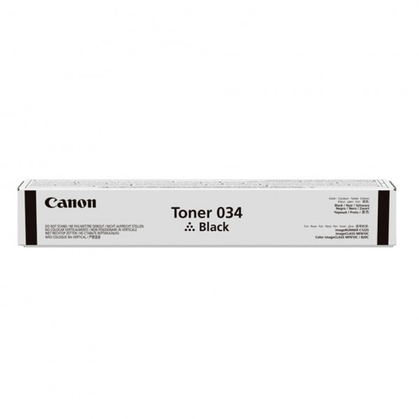 Canon 034. Black toner page yield: 12000 pages, Pr...