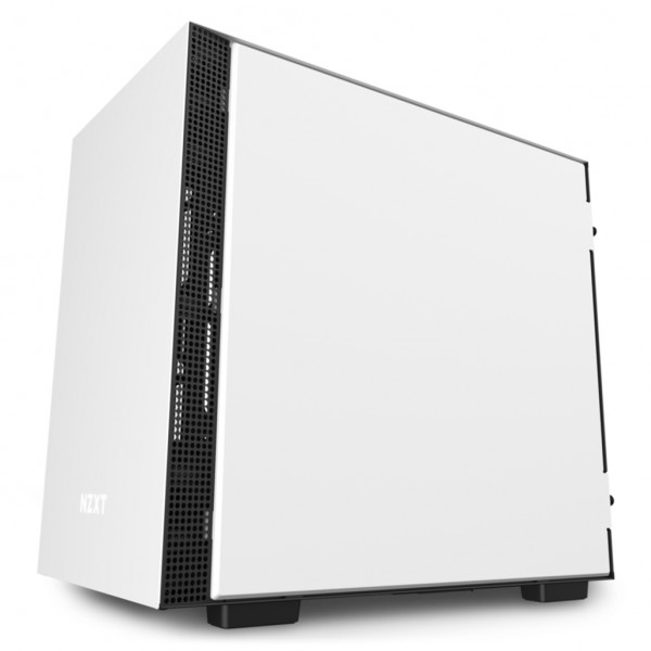 H210 White/Black Mini-ITX Case with Tempered Glass