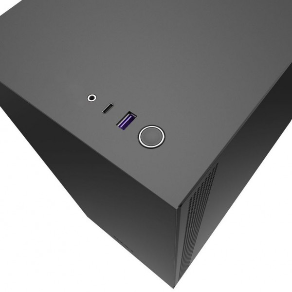 NZXT H510. Form factor: Midi Tower, Type: PC, Mate...