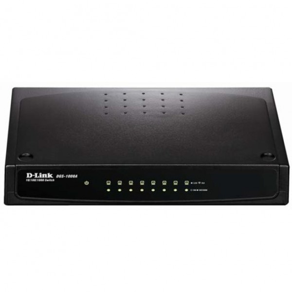 D-Link DGS-1008A. Switch type: Unmanaged. Basic sw...