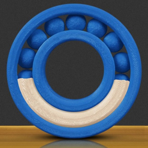 MakerBot MP05417. Printing colours: Blue,White, Co...