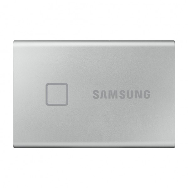 SAMSUNG 500GB T7 TOUCH USB3.2 EXTERNAL SSD -SILVER