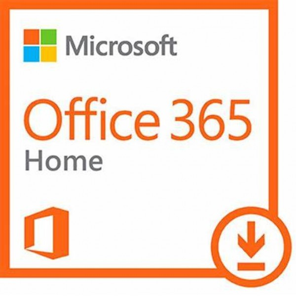 Microsoft Office 365 Home 1 Year Household Subsc...