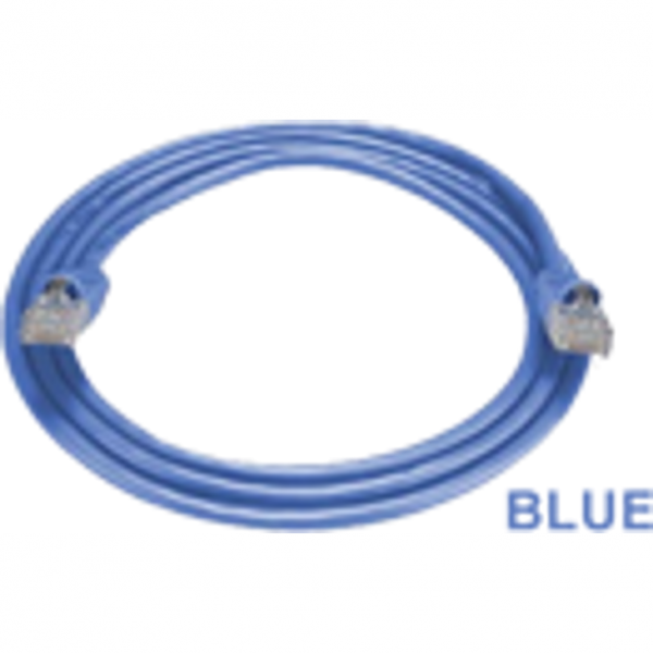 RCT - CAT5E PATCH CORD (FLY LEADS) 3M BLUE