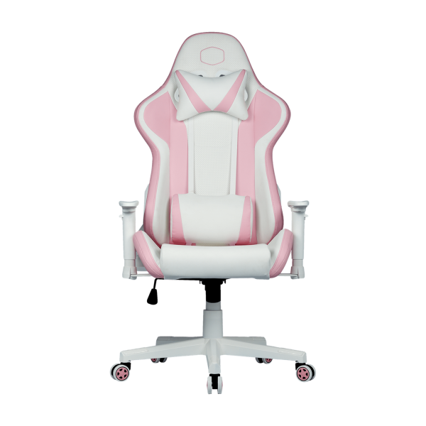 Cooler Master Caliber R1S Gaming Chair; Pink and W...