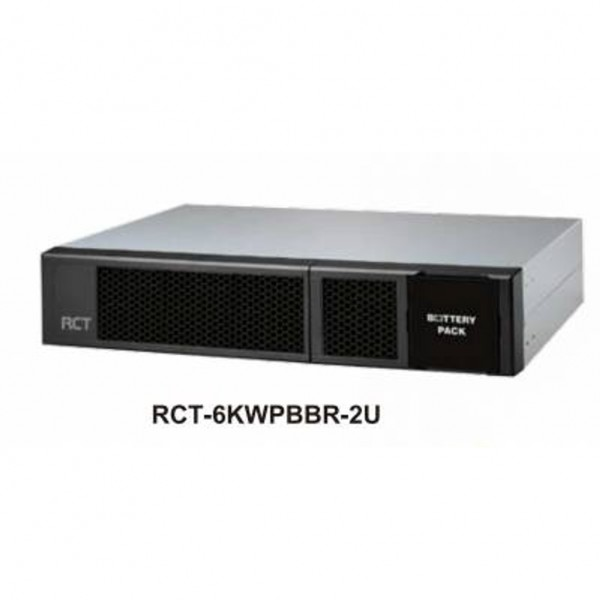 EXTENDED BATTERY BANK UNIT (2U) FOR RCT-6000-WPRU ...