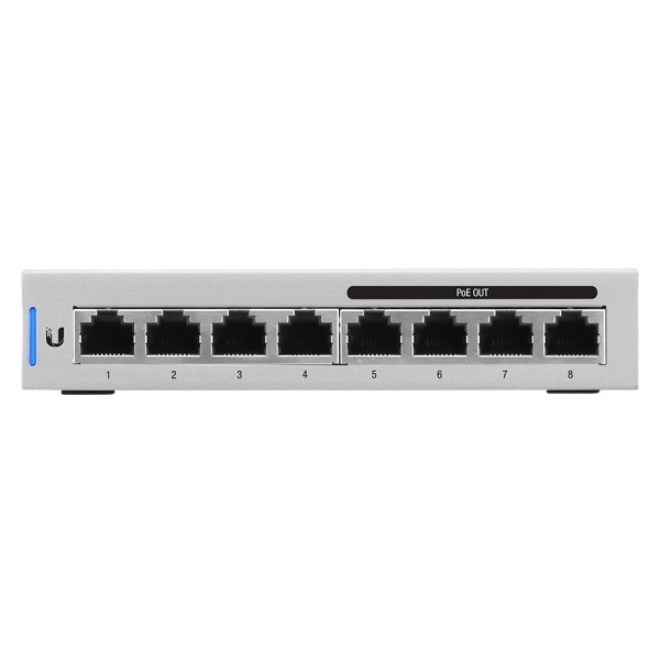 Ubiquiti 8 Port Gigabit 4x802.3af PoE 60W Switch |...