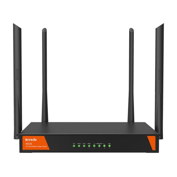 Tenda AC Dual Band Hotspot WiFi WAN Router | W15E