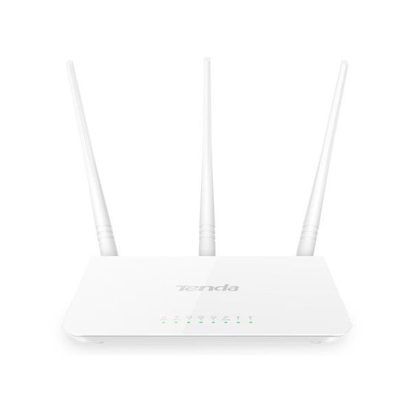 Tenda 300Mbps WiFi Router and Repeater | F3