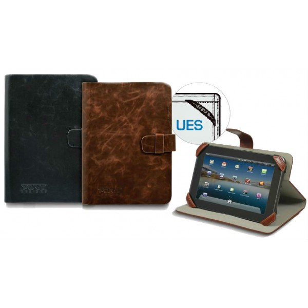 PORT MANILLE TAB CASE 10.1 BROWN