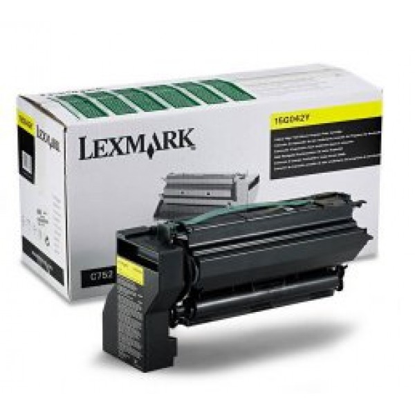 LEXMARK 24B6719 YELLOW CARTRIDGE