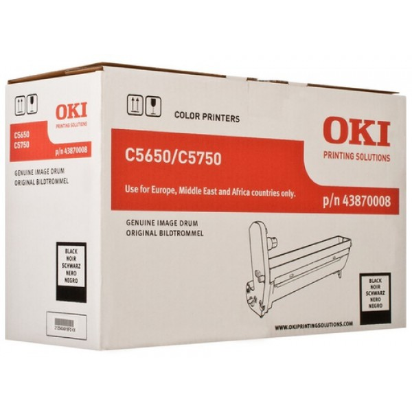 OKI Black(K) Drum Kit C5650/C5750