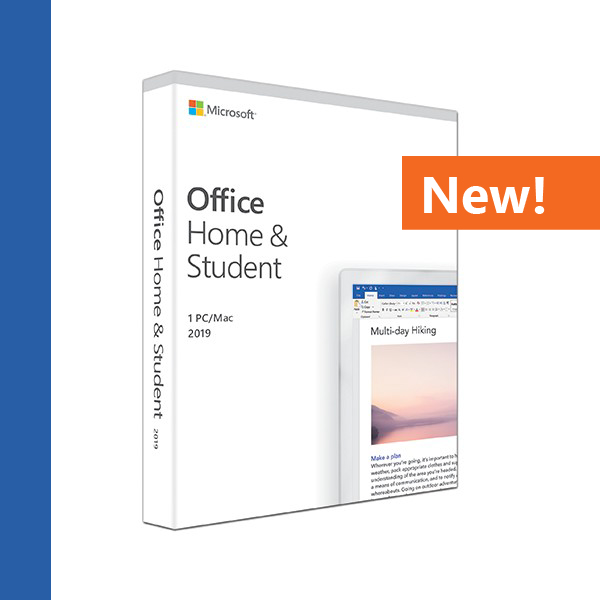 Office Home and Student 2019 (Medialess)