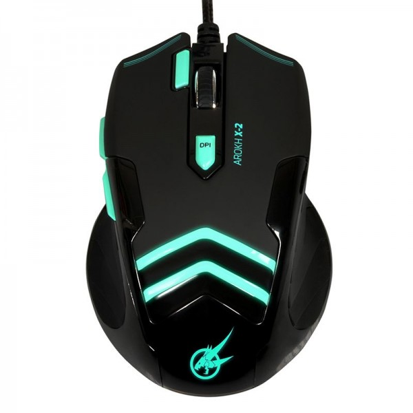 PORT GAMING MOUSE AROKH X-2 GN