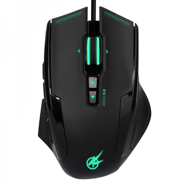 PORT GAMING MOUSE AROKH X-3 GN