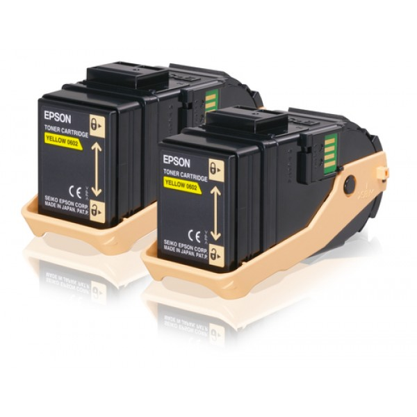 EPSON - TONER - CARTRIDGE ACUBRITE YELLOW (S050602...
