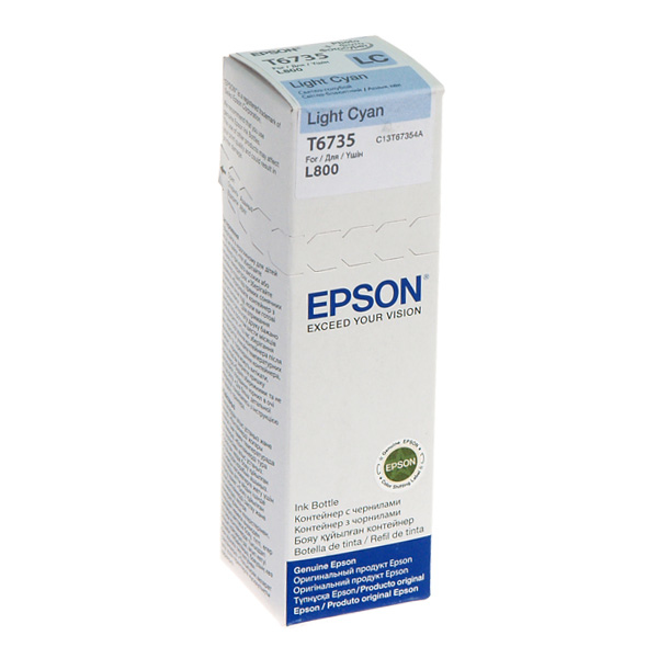 EPSON - INK - LIGHT-CYAN INK BOTTLE (70ML)L800