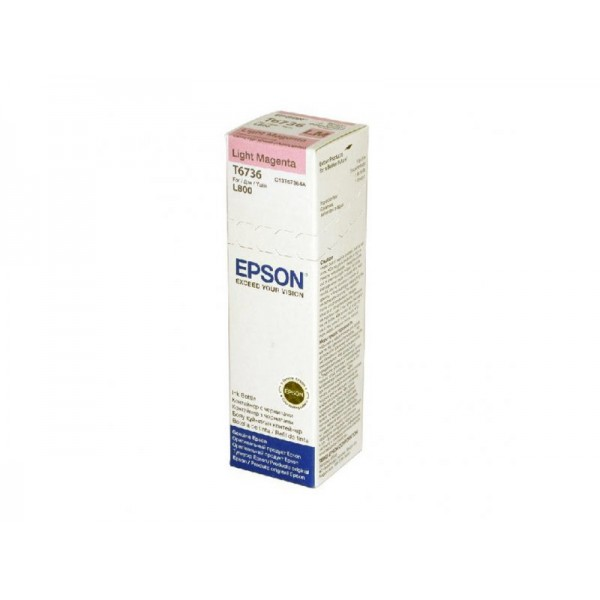 EPSON - INK - LIGHT-MAGENTA INK BOTTLE (70ML)L800