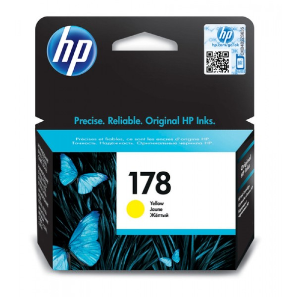 HP # 178 YELLOW INK CARTRIDGE WITH VIVERA INK - Of...