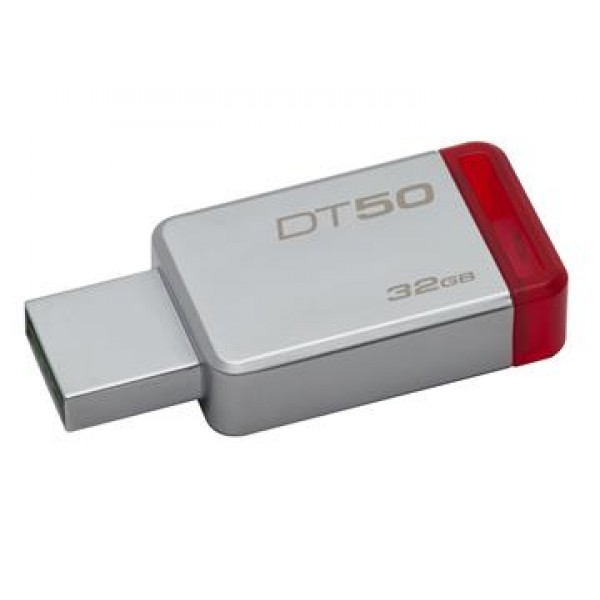 32GB USB 3.0 DataTraveler 50 (Metal/Red)
