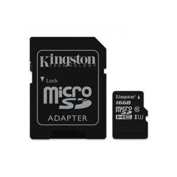 16GB microSDHC Canvas Select 80R CL10 UHS-I Card +...