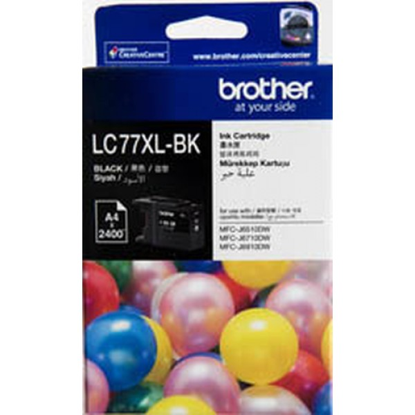 BROTHER HIGH YIELD BLACK INK CARTRIDGE - MFCJ6510D...