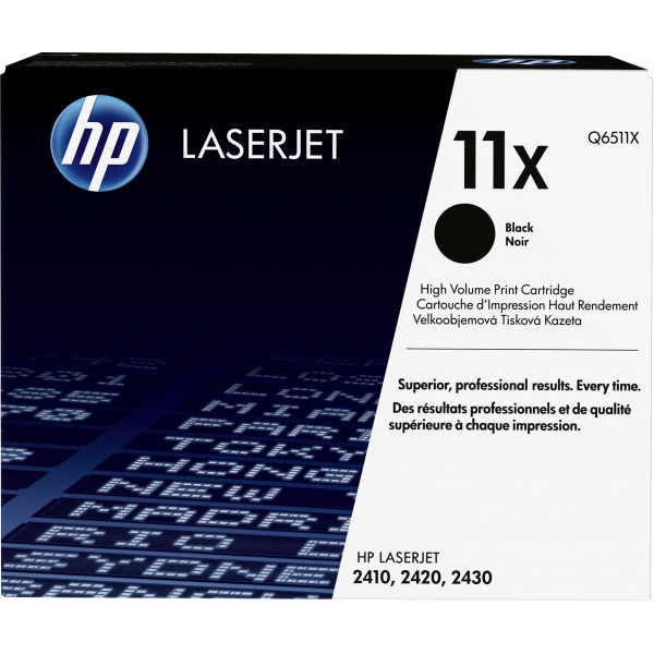 HP # 11X LASERJET 2400 SERIES BLACK PRINT CARTRIDG...